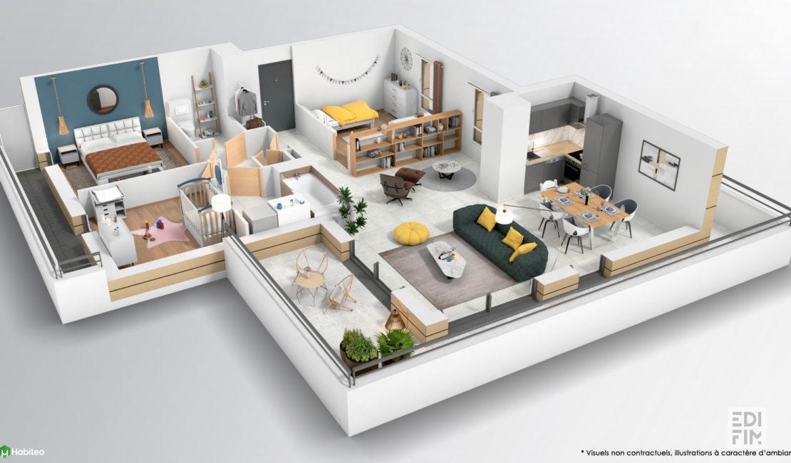 Programme Neuf Annecy-le-Vieux - LE PRE DES SENS | EDIFIM