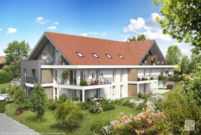 Programme Neuf Annecy-le-Vieux - CAP WEST | EDIFIM