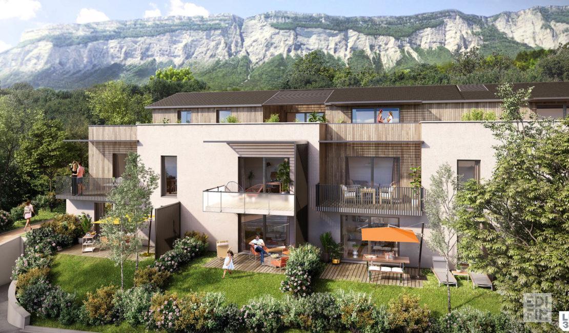 Programme Neuf Montbonnot- Domaine de Corbonne | EDIFIM