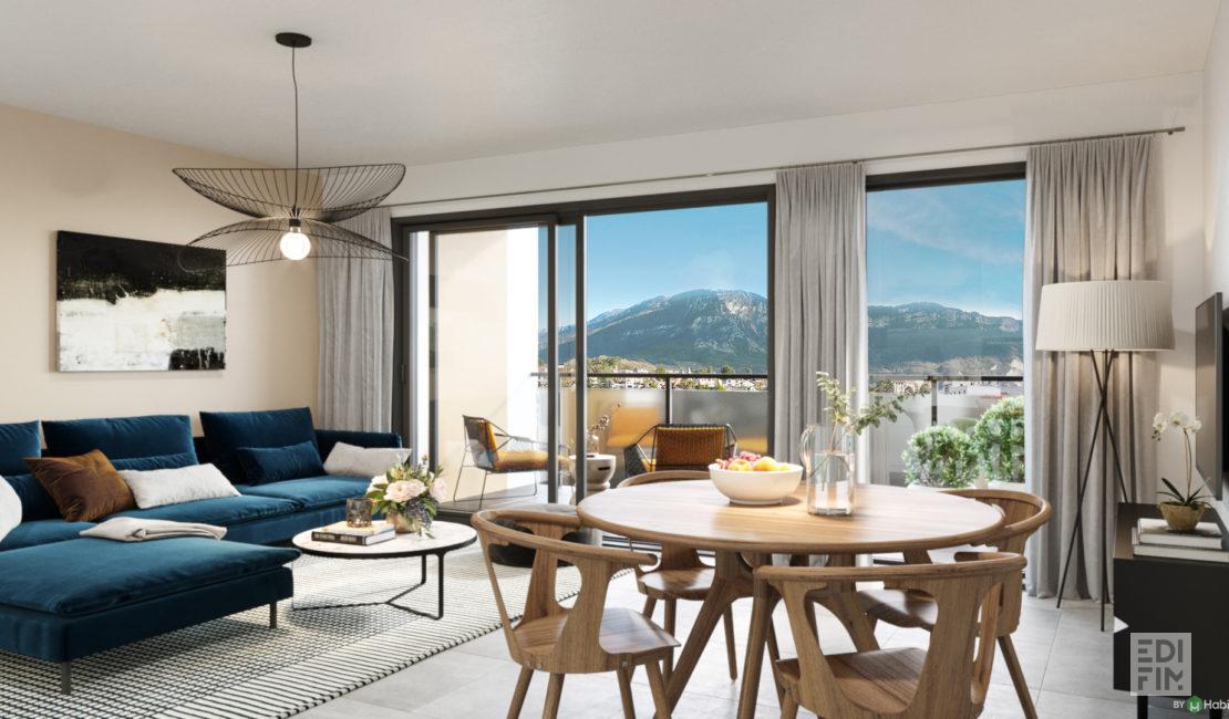Programme Neuf Aix-les-Bains - GRAND ANGLE | EDIFIM