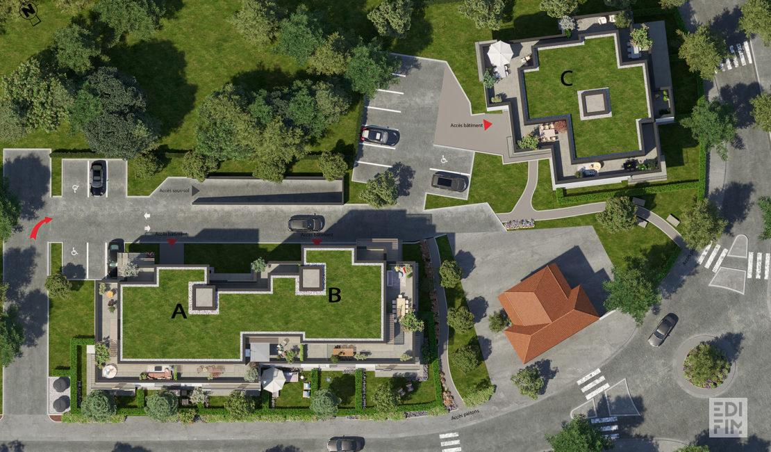 Programme Neuf Veigy - L'ARBORESCENCE | EDIFIM