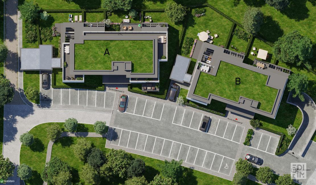 Programme Neuf Annecy-le-Vieux LE PRES DES SENS | EDIFIM