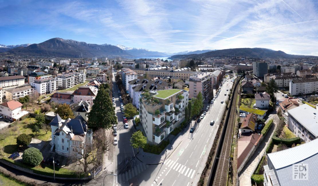 Programme Neuf Annecy - L'INSOLITE   EDIFIM
