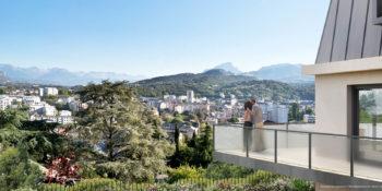 Chambéry depuis la Résidence CONFIDENTIEL | EDIFIM