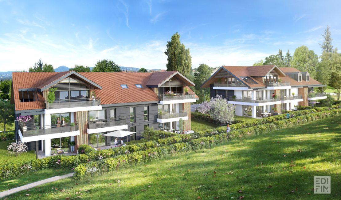 Programme Neuf Annecy-le-Vieux - AZALEA   EDIFIM