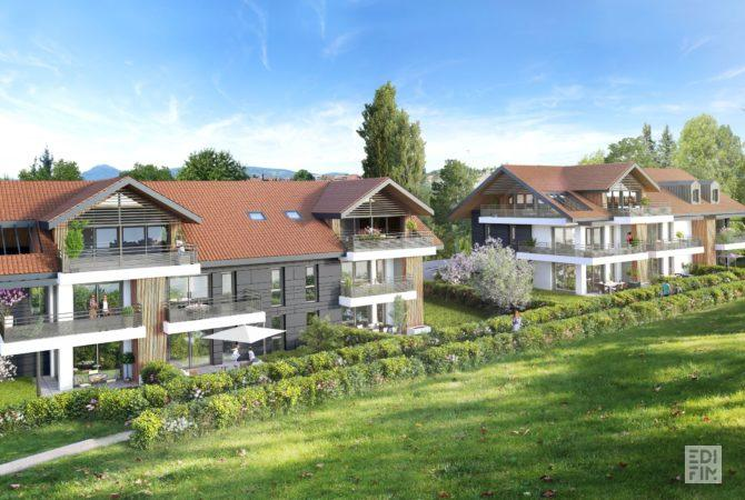 Programme Neuf Annecy-le-Vieux - AZALEA | EDIFIM